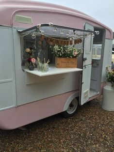 vintage caravan for sale used as wedding hire suitable for photobooth/cocktail bar or glamping