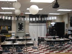 Lots of great ideas for setting up your classroom.
