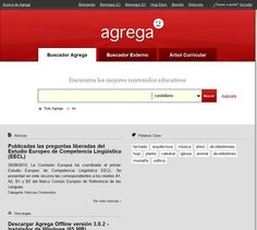 Portal de recursos del Proyecto Agrega 2