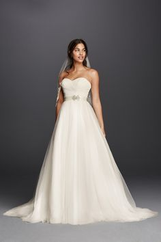 A classic ball gown