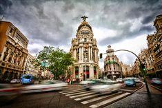 Gran Via, Madrid. | Photo by Wenjie, Zhang