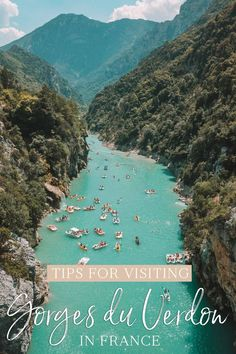 Ready for the perfect afternoon in the French countryside? Here are my tips for visiting Gorges du Verdon in France. Europe Travel Guide, Travel Guides, Budget Travel, Paris Travel, France Travel, Moustiers Sainte Marie, Belle France, Aix En Provence, Provence France