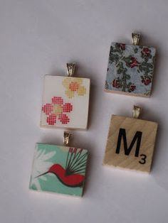 Tutorial how to make a scrabble tile pendant scrabble tiles scrabble tile pendant how to michelle harris this is for you aloadofball Image collections