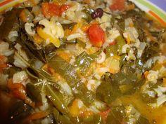 Orez cu foi de vita de vie - Bucataria cu noroc Tortellini, Noroc, Risotto, Grains, Spaghetti, Meat, Chicken, Life, Seeds