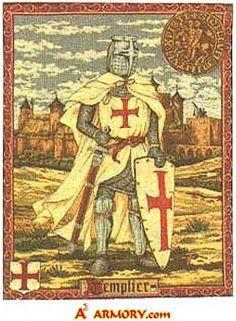 Templar Medieval Tapestry
