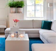 Boele elementen bank # Cubus tafel # Interiors DMF # via # De Beukenhof # Interieur