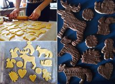 Cookies for Christmas #cooking #cookies #animals