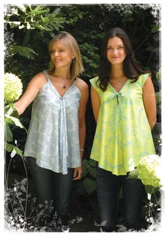 Favorite Things Summer Time swing top pattern