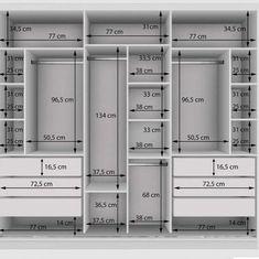 Wardrobe Interior Design, Wardrobe Door Designs, Walk In Closet Design, Wardrobe Design Bedroom, Room Design Bedroom, Bedroom Furniture Design, Home Room Design, Closet Designs, Door Design Interior