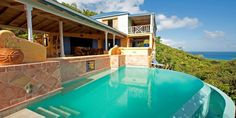Limeberry Villa, SMUGGLERS COVE, WEST END, TORTOLA, BVI - BRITISH VIRGIN ISLANDS A 4 bedroom, 4 bathroom designers dream villa with spectacular views!