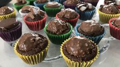 Saftiga grötbullar med kross | söndagsfika.se Fika, Muffin, Food And Drink, Breakfast, Desserts, Instagram, Breakfast Cafe, Tailgate Desserts, Muffins