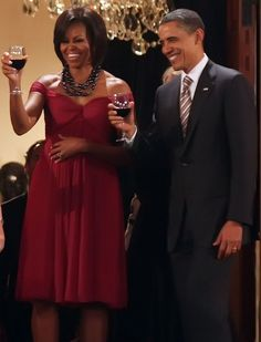 Mr. President Obama and First Lady Michelle