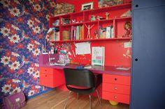 Casinha colorida: Um loft colorido e familiar