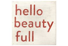 Hello Beauty Full on OneKingsLane.com