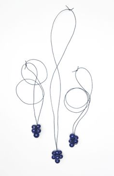 NAJS - grapes porcelain necklace by Tereza Severynova www. Headphones, Porcelain, Accessories, Jewelry, Design, Style, Fashion, Ear Phones, Jewlery