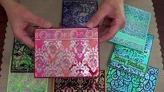 Elizabeth Craft Designs Shimmer Sheetz for Card Making (+playlist)