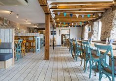 Places to eat in Cornwall , The Sharksfin Waterfront Bar & Restaurant… Places In Cornwall, Devon And Cornwall, Cornwall England, Deco Restaurant, Waterfront Restaurant, Camping France, Camping Cornwall, Camping Places, Camping Gear