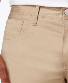 Armani Exchange Men's Straight-Fit Stretch Twill Jeans - Blue 32x32