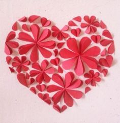Picture of paper Petal Hearts!