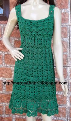 Fabulous Crochet a Little Black Crochet Dress Ideas. Georgeous Crochet a Little Black Crochet Dress Ideas. Crochet Summer Dresses, Crochet Skirts, Crochet Blouse, Crochet Yarn, Crochet Clothes, Knit Dress, Knit Crochet, Crochet Woman, Look Chic