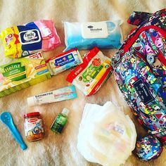 Getting ready to go out with my babygirl  Alicia. That's What in our Ju Ju Be... The minimal amount of stuff )) and by the way I am obsessed with baby wipes   #jujube  Arizona- I Was Wrong