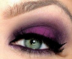 <3purple for blue or green eyes