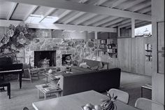 Circa 1955 Midcentury Post and Beam In Fryman Canyon. Browse inspirational photos of modern homes. From midcentury modern to prefab housing and renovations, these stylish spaces suit every taste. Post And Beam, Studio City, Prefab Homes, Midcentury Modern, Mid Century, Contemporary, Modern Interiors, Table, House