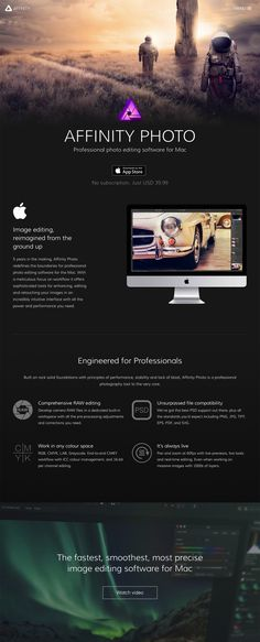 AFFINITY Photo - Professional photo editing software for Mac  https://affinity.serif.com/en-gb/photo/