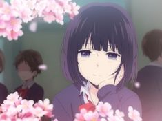 Imagem de anime, kuzu no honkai, and anime girl Manga Anime, Anime Art, Kuzu No Honkai Hanabi, Kuzu No Honkai Manga, Scums Wish, Anime Meme Face, Mikaela Hyakuya, Anime Girl Cute, Naruhina
