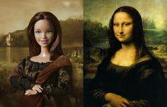 Barbie Mona Lisa e etc.