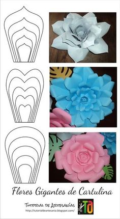 Paper flower template svg and printable pdf paper rose template diy paper rose template giant paper flowers hand cut or machine cut files – Artofit beautiful flower from paper to decorate your house - Salvabrani Paper flowers available for purchase if y Hanging Paper Flowers, Paper Flowers Craft, Large Paper Flowers, Paper Flower Backdrop, Giant Paper Flowers, Diy Flowers, Flower Petals, Flower Paper, Diy Paper Roses