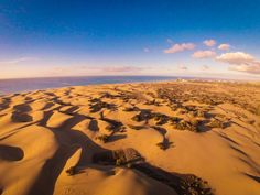 Are the Maspalomas dunes in south Gran Canaria doomed to disappear within 90 years?