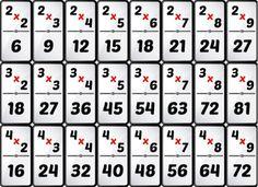Descargar 1100 Fichas para Recortar y Colorear -Primero a Sexto de Primaria | Planeaciones Gratis Math For Kids, Fun Math, Math Games, Math Activities, Math Worksheets, Math Resources, Multiplication, How To Write Calligraphy, First Grade Math