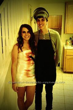 Coolest Dexter and his Victim Couples Costume