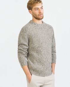 Image 1 of TWEED SWEATER from Zara