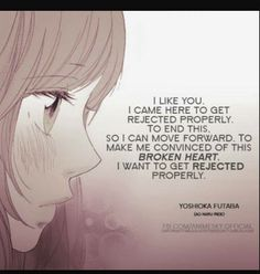unrequited love quotes anime - Google Search
