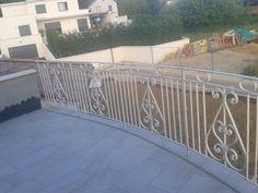 Garde-corps de balcon.