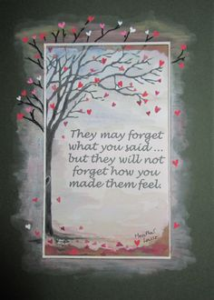Alzheimer's Awareness Art - Uplifting quotes for those who care for loved ones with Dementia. www.creative-carer.com