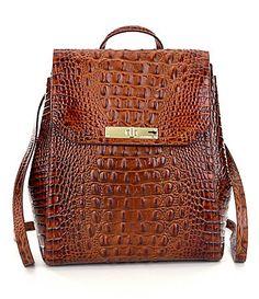 Brahmin Toasted Almond Collection Gloria Backpack #Dillards