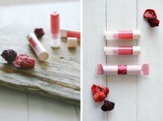 Homemade Lip Balm // Raw Beauty // A Perfectly Pink Pout.