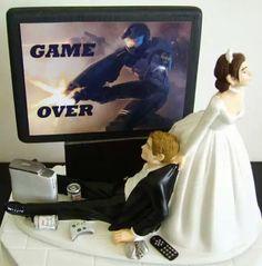 Gammer wedding cake