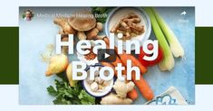Healing Broth is a powerful mineral-rich liquid that carries the essence of vitally nutritious vegetables, herbs, and spices in a way that is easy for the body to digest, assimilate, and utilize. Sea Vegetables, Fresh Fruits And Vegetables, Medical Medium Anthony William, Healing Soup, Medium Recipe, Turmeric Root, Fresh Turmeric, Fresh Ginger, Nutritious Meals