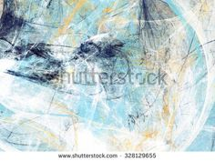 Abstract beautiful blue and white soft color background. Dynamic painting texture. Modern futuristic pattern. Fractal artwork for creative graphic design