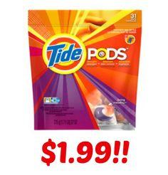 Tide Pods Only $1.99 at CVS!
