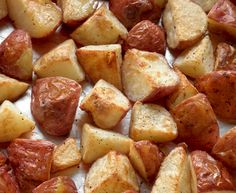 The Food Pusher: Oven Roasted Potatoes