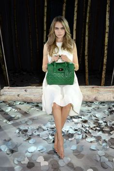 Behind the Scenes: Watch Cara Delevingne create her own Mulberry bag