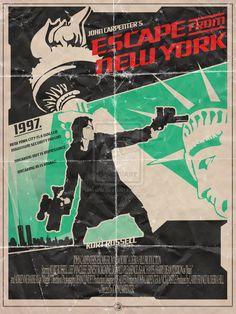 1997 Escape From NY - John Carpenter by EvanDeCiren.deviantart.com on @deviantART