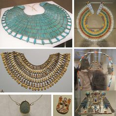 broad collars at the Met museum in NY * gemagenta *: Ancient EGYPTIAN Jewelry at MET Museum (Part II)