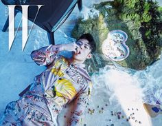 """inner space"" pictorial by w korea"