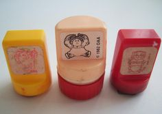 Toy Character Stamps